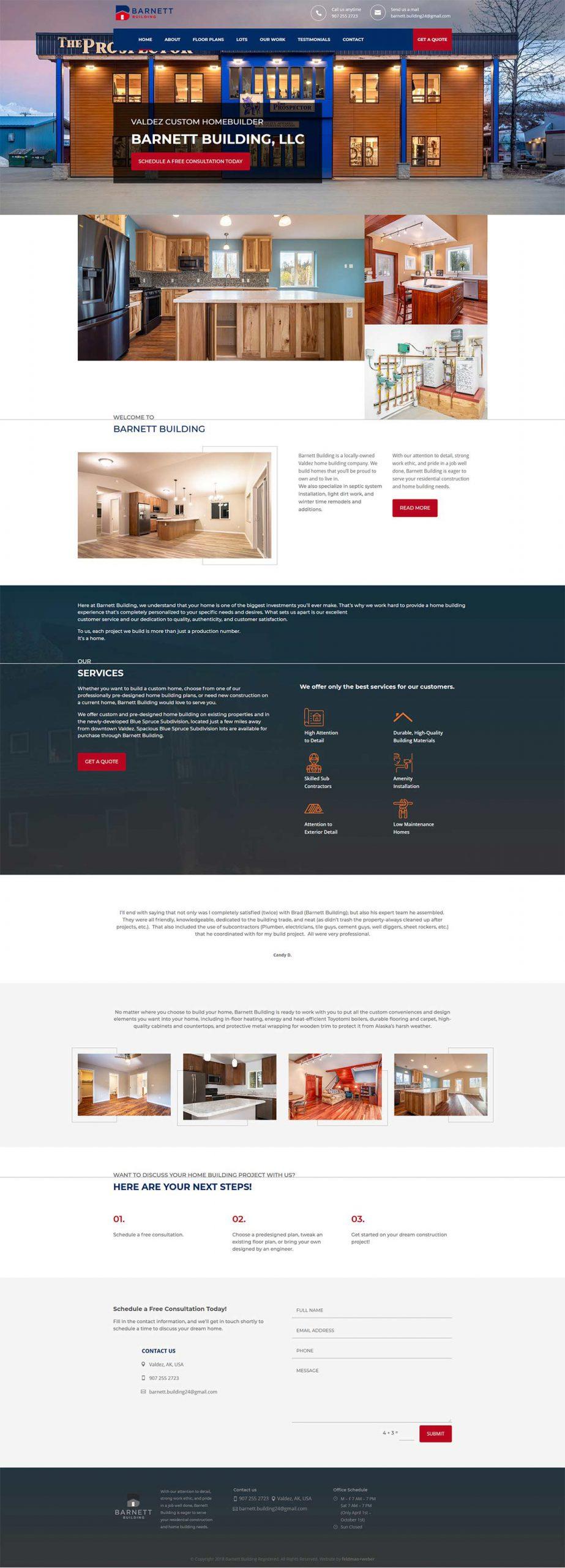 Barnett Building Homepage