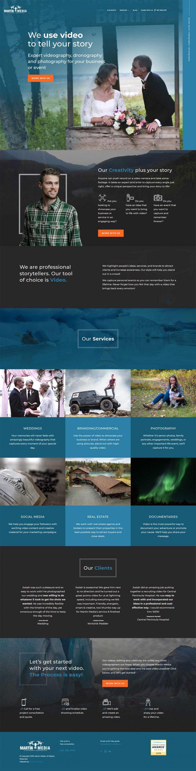 Martin Media Homepage