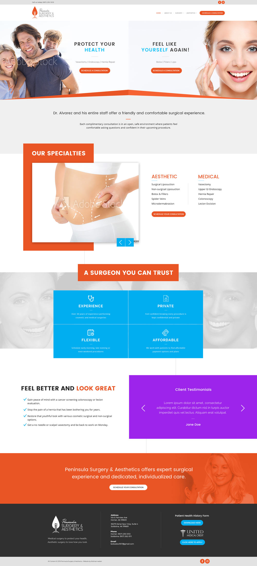 PSA Homepage