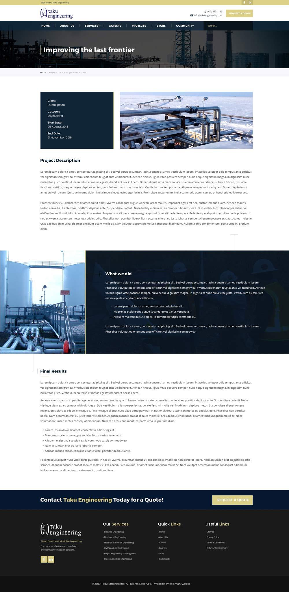 Taku Project page