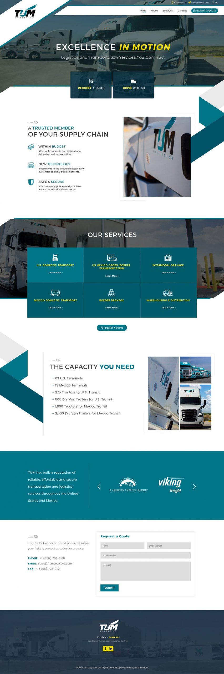 TUM Homepage